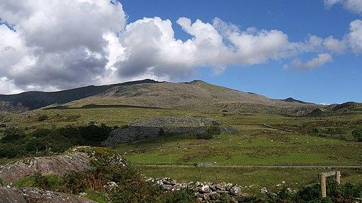 Snowdon from Rhyd Ddu - geograph.org.uk - 2036545