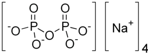 Tetrasodium pyrophosphate - Image: Sodium pyrophosphate