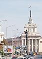 Sofia blvd Todor Aleksandrov view to square Nezavisimost 2012 PD 2.jpg