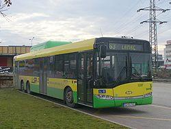 Autobus Solaris Urbino 15 w Bratysławie