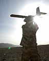 Soldier Launches Desert Hawk UAV MOD 45151356.jpg