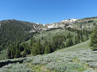 Soldier Mountains - Image: Soldier Mountains Camas County