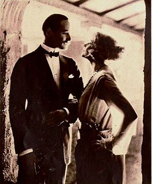 Soldiers of Fortune (1919 film) - Film still with Norman Kerry and Anna Q. Nilsson