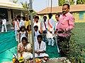 Somvati yag at Veerabhadra Devasthan Vadhav in presence of Balyogi Om Shakti Maharaj. 05.jpg