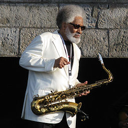 Rollins at Newport Jazz Festival in 2008 Sonny Rollins at Newport 2008.jpg