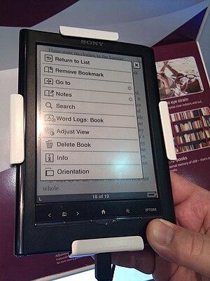 Sony Reader - Sony Reader PRS-650