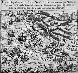 Treaty of Compiègne (1624) - Under the treaty, the Dutch had to participate in the Capture of Île de Ré by Charles, Duke of Guise against their Protestant correligionaries in September 1625.