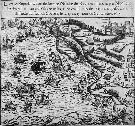September 15: The Capture of Re island. Soubise 12 15 Septembre 1625.jpg