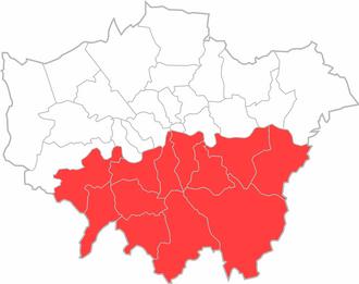 South London - Image: South London