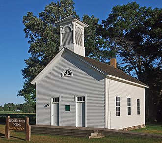 National Register of Historic Places listings in Isanti County, Minnesota - Image: Spencer Brook School