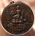 Sperandio, medaglia di alessandro tartagni, bolognese, 1478 ca. 02 mercurio su un drago.jpg