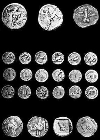 Spintria - Spintriae from Pompeii