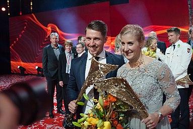 Sportler des Jahres Österreich 2016 Eva-Maria Brem Marcel Hirscher 2.jpg