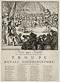 Spotprent op Jacobus II en Lodewijk XIV als koorddansers, 1689. NL-HlmNHA 53009122.JPG