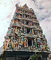 Sri Mariamman Temple with statues (32129633965).jpg