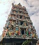 Sri Mariamman Temple with statues (32129633965).jpg