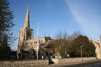 Ancaster, Lincolnshire - Image: St.Martin's church, Ancaster, Lincs. geograph.org.uk 81148