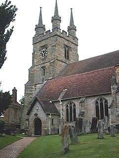 St John the Baptist, Penshurst Grade I listed building in the United Kingdom