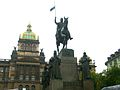 St. Wenceslas and National Museum, Prague, Czech Republic.JPG