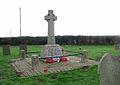 St Andrew's church - war memorial - geograph.org.uk - 1637040.jpg