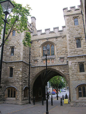 Museum of the Order of St John - St John's Gate, home of the museum