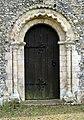 St Mary's church, Gillingham, Norfolk - Norman doorway - geograph.org.uk - 1345545.jpg