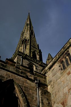 St. Oswald's Church i Ashbourne