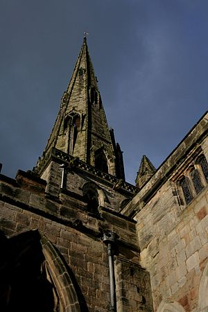 Ashbourne, Derbyshire - St. Oswald's Church