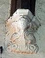 St Peter and St Paul, Edenbridge, Kent - Corbel1.jpg