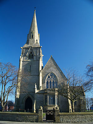 Werneth, Greater Manchester - St Thomas's Church, Werneth