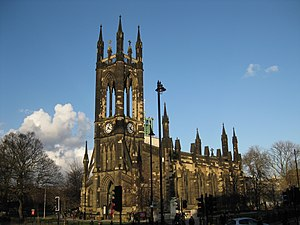 Haymarket, Newcastle - St Thomas' Church