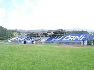 Mladost Stadium (Lučani) - Image: Stadion Mladost Lučani 1