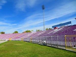 Stadionul Dan Păltinișanu - Image: Stadionul Dan Păltinişanu panoramio (1)