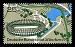 Stamps of Germany (BRD), Olympiade 1972, Ausgabe 1972, Block 1, 25 Pf.jpg