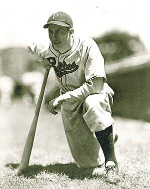 Stan Benjamin - Stan Benjamin with the Philadelphia Phillies