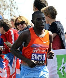 Stanley Biwott during 2013 London Marathon (2).JPG