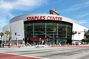View of Staples Center