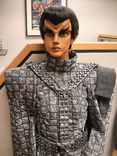 Romulan Fictional extraterrestrial humanoid species in the Star Trek franchise