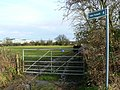 Start of footpath to Great Western Hospital, Swindon. - geograph.org.uk - 306842.jpg