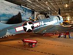 Static Display USS Lexington SBD-2 Dauntless side view.JPG