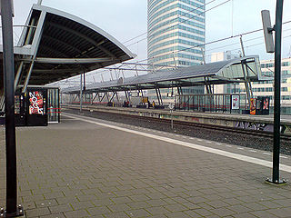 Hoofddorp railway station railway station in the Netherlands