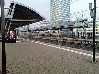 Hoofddorp railway station - Image: Station Hoofddorp 1b
