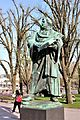 Statue of Martin Luther outside St. Mary's Church, Berlin 02.jpg