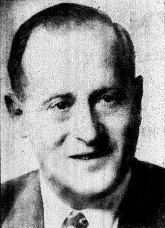 Stanley Steingut - Photo of Stanley Steingut from Brooklyn Daily, May 22, 1957, p. 15 (uncredited).