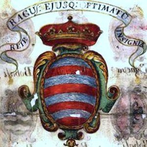 Coat of arms of the Republic of Ragusa - Image: Stema.original.repub lica.ragusea