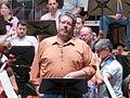 Stephen Gould, Ensaio Tristán e Isolda, Palacio da ópera, A Coruña 29.JPG