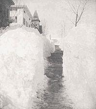 Great Blizzard Of 1888 Wikipedia