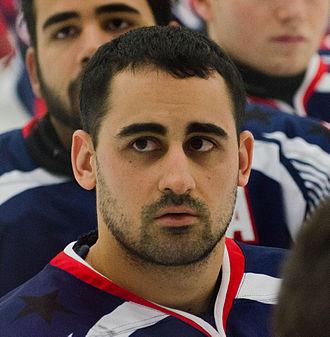 Steve Cash (sledge hockey) - Cash in 2015