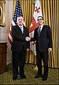 Steven Mnuchin and Georgian PM Kvirikashvili at US Treasury.jpg