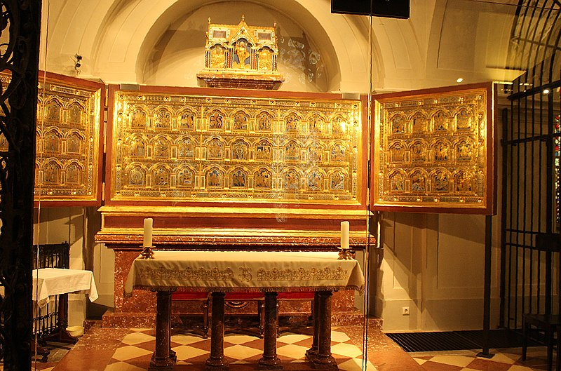Tomb of Saint Leopold III in Klosterneuberg Abbey